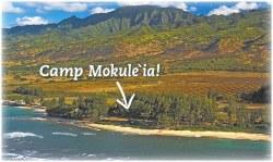 Camp Mokuleia setting slide 1