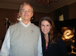 Mari Mancusi with Bill Murray