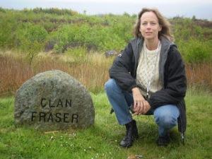 Lori at Clan Fraser Marker