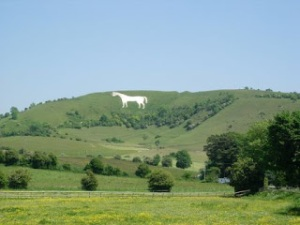 Wiltshire White Horses by Sarah Tranter