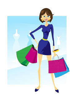 Stock illustration: Shopping Image ID: 1402492