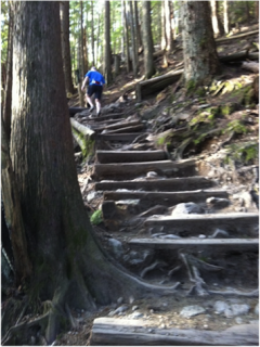 Lisa Voisin Grouse Grind