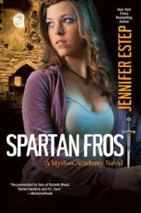 Spartan Frost by Jennifer Estep (Mythos Academy #4.5)