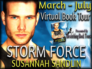 Storm Force blog tour button